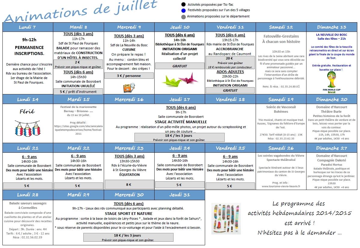 programme-tic-tac-juillet-2014