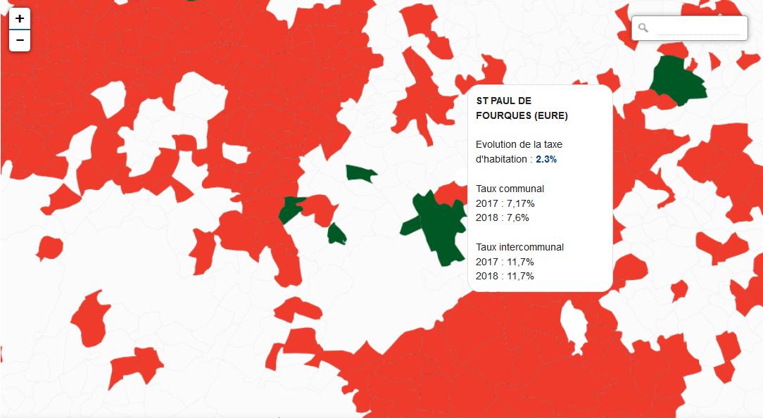 Taxe d'habitation : pas d'augmentation du taux de la part communale