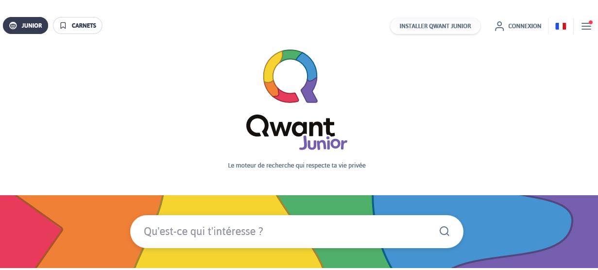 Qwant Junior, le moteur de recherche pour nos enfants