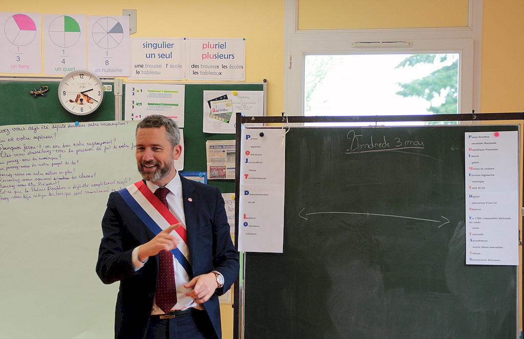 Le projet de loi des enfants de CM1-CM2 de l'école de Saint-Paul-de-Fourques