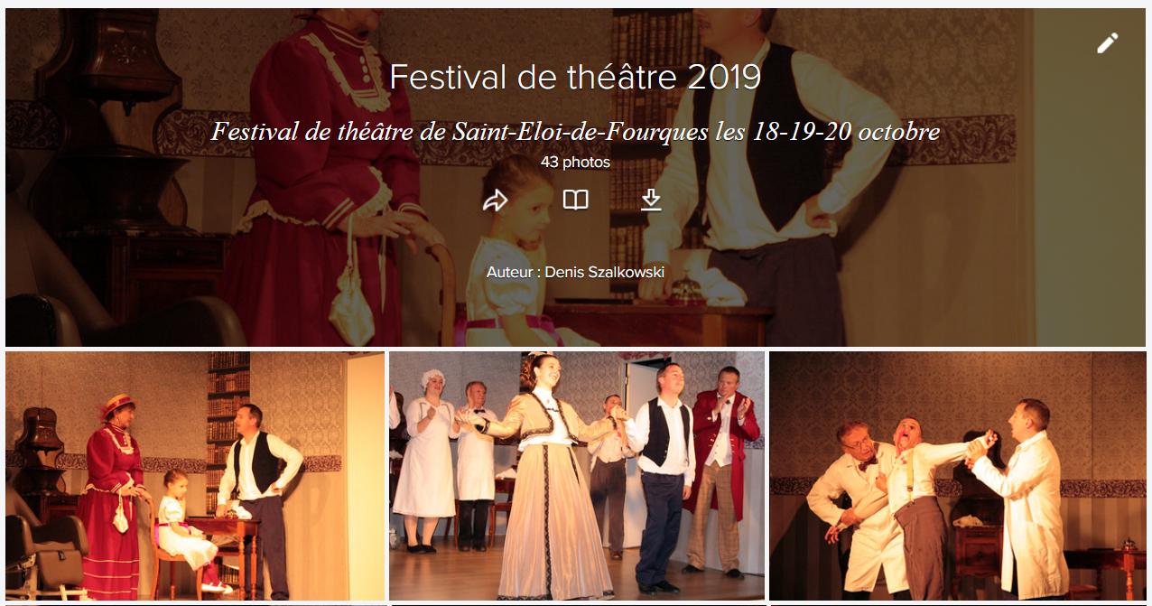 Retour en photos sur le festival de théâtre des 18-19-20 octobre
