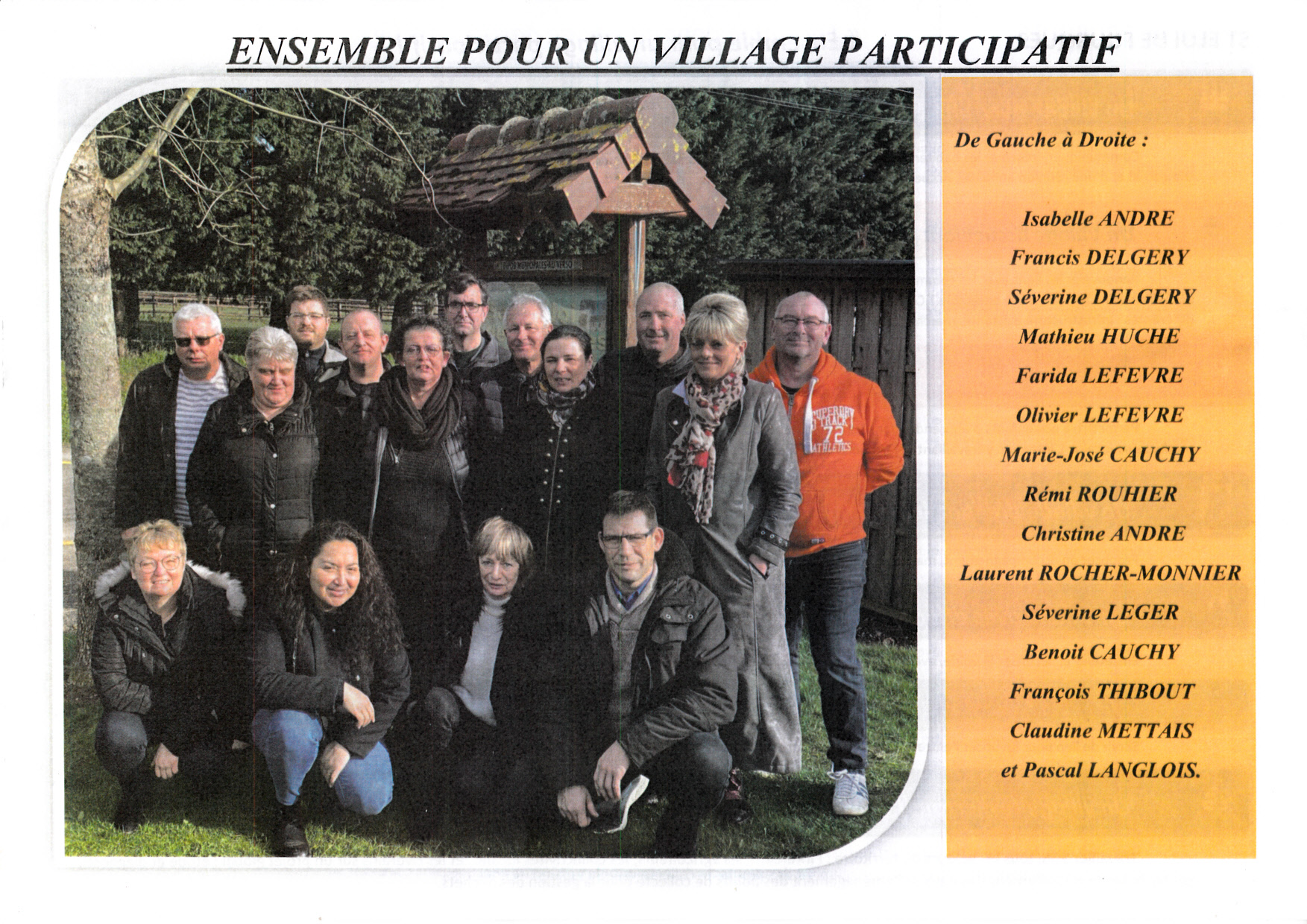Ensemble pour un village participatif